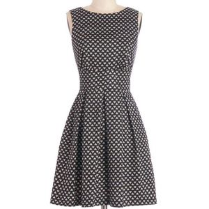 [ModCloth] Ain't We Haute Fun? Dress in Hearts 🖤